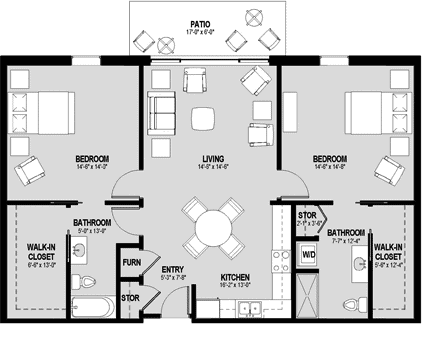 Hamplet Floorplan