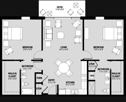 Hamplet Floorplan