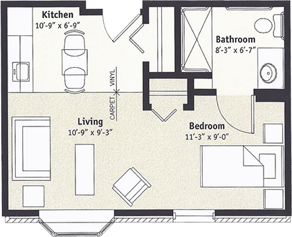Hampshire Floorplan