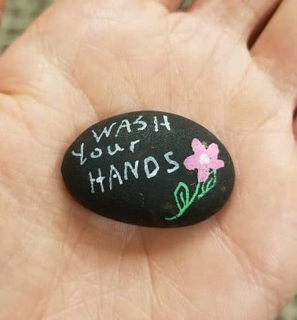 wash your hands rock