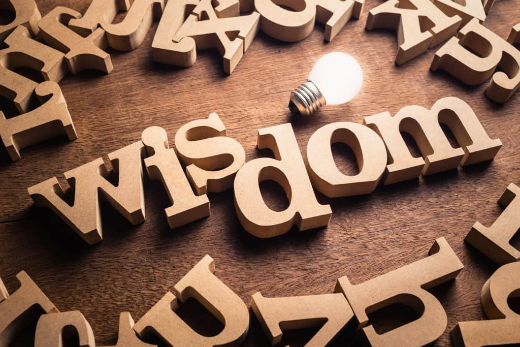 wisdom topic