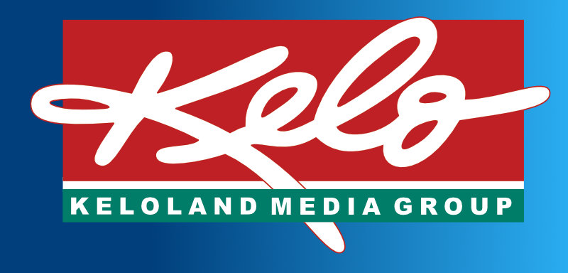 The Keloland Logo on a blue gradient background
